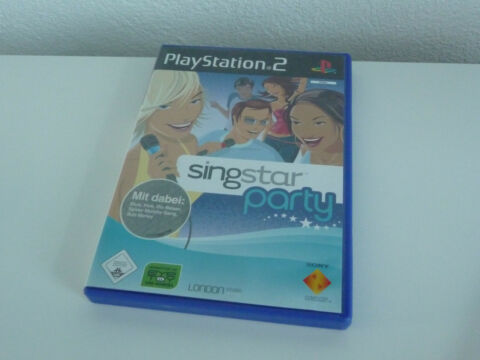 PLAYSTATION PS2 SINGSTAR PARTY