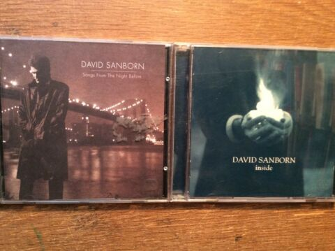 DAVID SANBORN 2 CD ALBEN INSIDE SONGS FROM THE NIGHT BEFORE