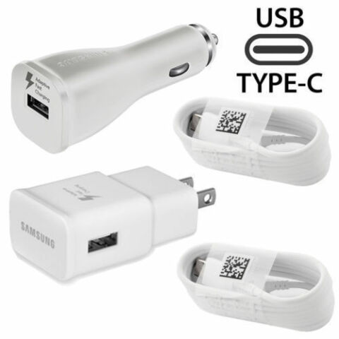 F R ASUS HANDYS OEM ADAPTIV SCHNELL CAR HOME ADAPTER 2 TYP C KABEL