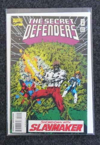 THE SECRET DEFENDERS NR 21 MARVEL COMICS USA ZUSTAND 1