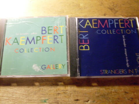 BERT KAEMPFERT COLLECTION 2 CD ALBEN GALLERY STRANGERS