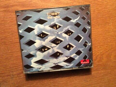 THE WHO TOMMY 2 CD ALBUM POLYDOR MADE IN WEST GERMANY 800 079 2 DICKES CASE