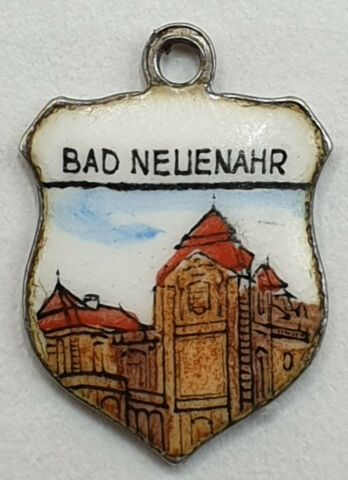 BAD NEUENAHR 2 ANH NGER WAPPEN BETTELARMBAND CHARMS SILBER 800