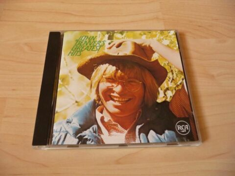 CD JOHN DENVER GREATEST HITS 11 SONGS INCL TAKE ME HOME COUNTRY ROADS