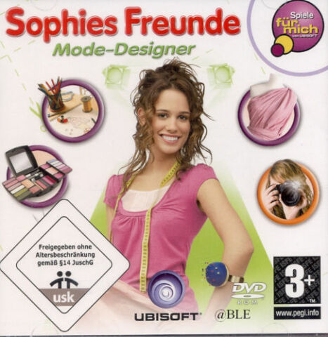 DVD ROM SOPHIES FREUNDE MODE DESIGNER OUTFIT ACCESSOIRES STYLING