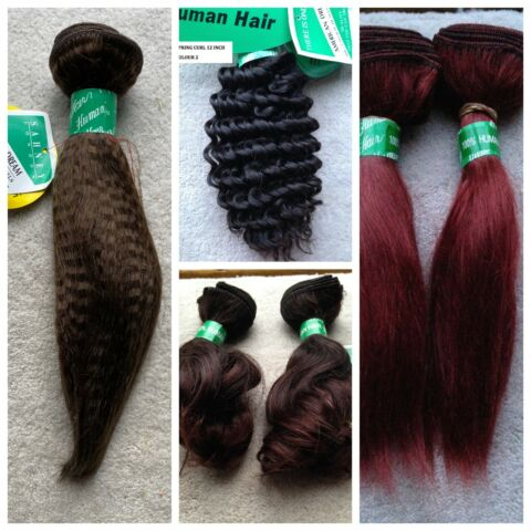 100 HUMAN HAIR AMERICAN DREAM 8 INCHES TO 12 INCHES