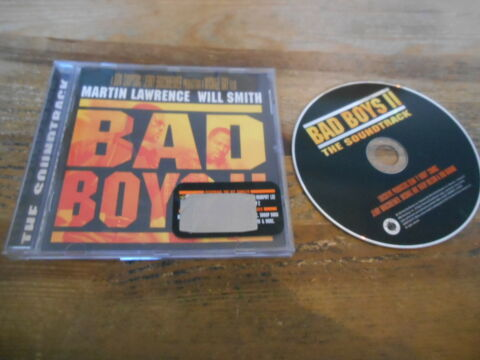 CD OST SOUNDTRACK BAD BOYS II 18 SONG UMG BAD BOY JC