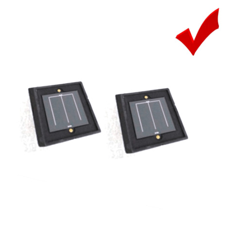 2DU10 10X10MM SILICON PHOTOCELL LAZER PHOTOSENSITIVE RECEIVER 400NM 1100NM 2PIN