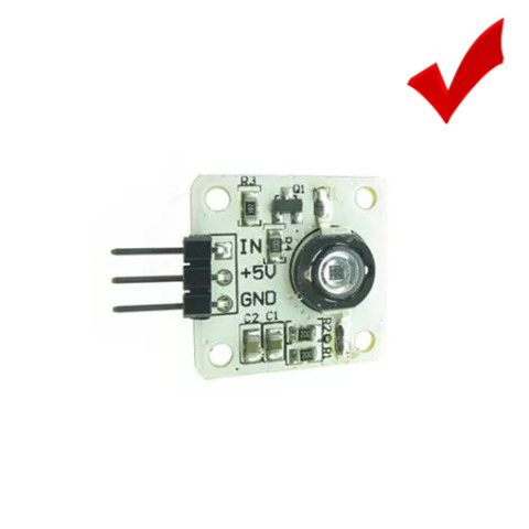 HIGH POWER 45 METER 5V 1W 3W 940NM LED INFRARED TRANSMISSION MODULE ARDUINO