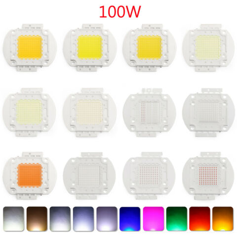 10W LED BRIGHT INTEGRIERT CHIP HOHE ENERGIE LICHT DIODE LEUCHTDIODE 22 FARBEN H