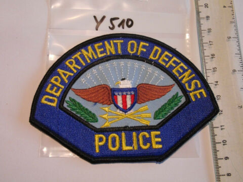 POLIZEI USA PATCH US DEPARTMENT OF DEFENSE POLICE Y510