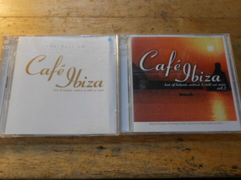 CAF IBIZA 2 CD ALBEN THE BEST OF VOL 2 LEMONGRASS NIGHTMARES ON WAX MOBY