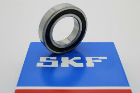 1 ST CK SKF RILLENKUGELLAGER 6008 2RS1 C3 40X68X15 MM KUGELLAGER 6008 2RS C3