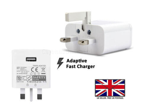 FOR REALME 3 PRO FAST UK WALL PLUG CHARGER MICRO USB DATA CHARGE CABLE