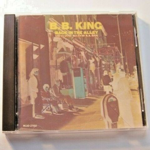 B B KING BACK IN THE ALLEY 1997 MCA RECORDS MCAD 27010