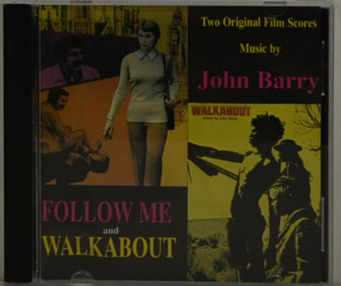 JOHN BARRY FOLLOW ME WALKABOUT OST CD II 908