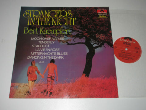 LP BERT KAEMPFERT STRANGERS IN THE NIGHT POLYDOR 2482154 SPECIAL GOLDEN CROWN SE