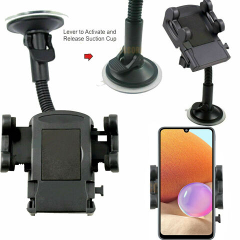 CAR WINDSCREEN SUCTION MOUNT HOLDER KIT 360 FOR MOBILE CELL PHONE HUAWEI HTC