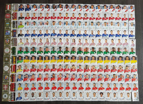 PANINI STICKER WM 2018 RUSSIA AUS ALLEN STICKERN 232 451 AUSSUCHEN WORLD CUP