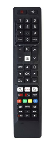 BUDGET REPLACEMENT FOR TOSHIBA TV REMOTE CONTROL 48U7653DB SMART 4K UHD 48 LED