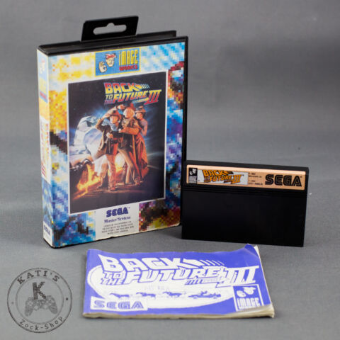 BACK TO THE FUTURE SPIEL F R SEGA MASTER SYSTEM IN OVP MIT ANLEITUNG