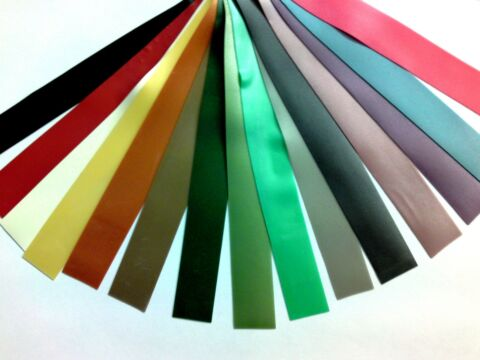 LATEX RUBBER STRIPPING STRIPS 0 33MM THICK 15MM 9 16IN WIDE VARIOUS COLOURS