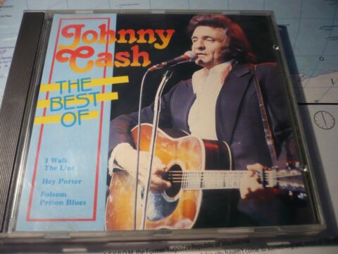 JOHNNY CASH THE BEST OF CD