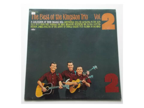 KINGSTON TRIO THE BEST OF THE KINGSTON TRIO VOL 2 LP