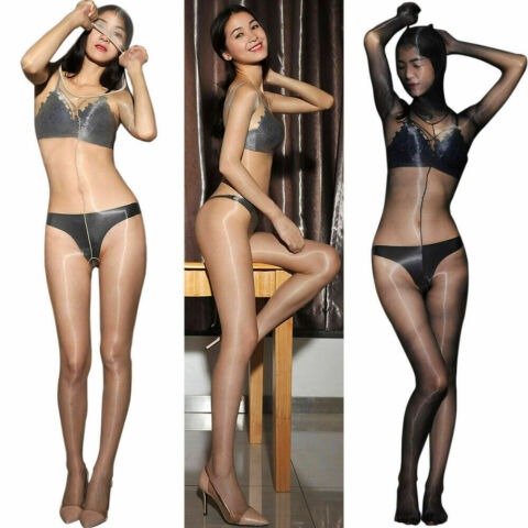 NEU 1D SHEER BODYSTOCKING NYLON EXTRAGLATT GL NZEND BODYSUIT CATSUIT HOOD GLOVES