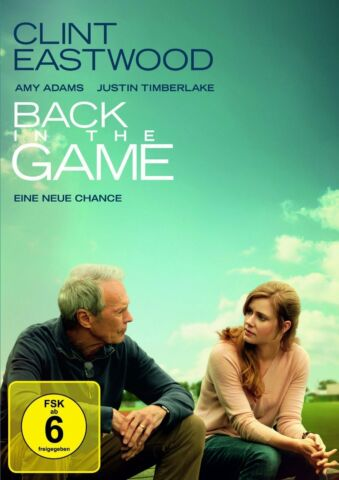 BACK IN THE GAME EINE NEUE CHANCE CLINT EASTWOOD AMY ADAMS NEU OVP
