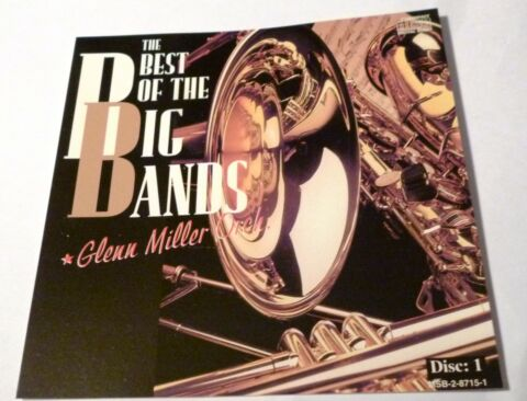 CD THE BEST OF THE BIG BANDS DISC 1 GLENN MILLER ORCH