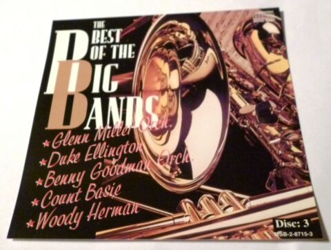 CD THE BEST OF THE BIG BANDS DISC 3