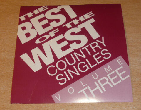 CD THE BEST OF WEST COUNTRY SINGLES VOLUME THREE