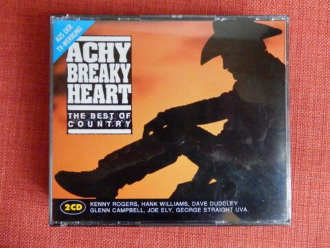 ACHY BREAKY HEART THE BEST OF COUNTRY 2 CDS TOP ZUSTAND