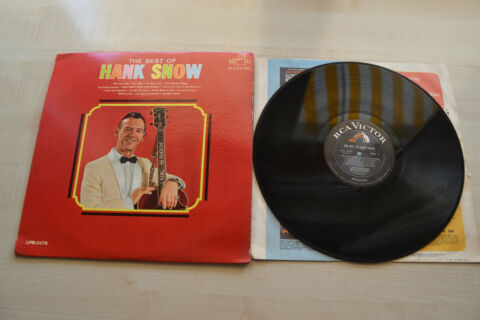 HANK SNOW THE BEST OF HANK SNOW RCA USA 1966 OIS LPM 3478