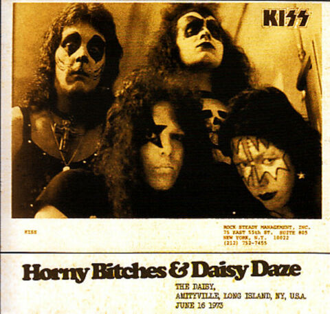 KISS HORNY BITCHES DAISY DAZE LIMITED GATEFOLD DIGIPAK CD