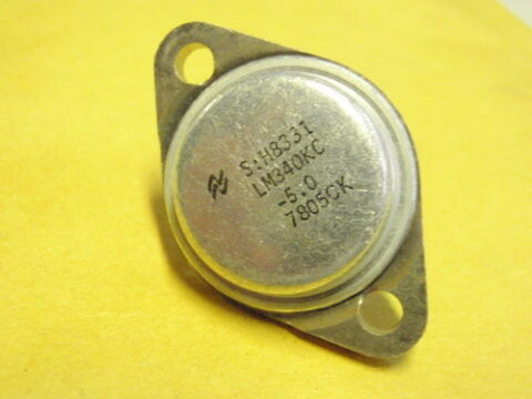 IC BAUSTEIN LM340KC 5 0 TO 3 16368 122