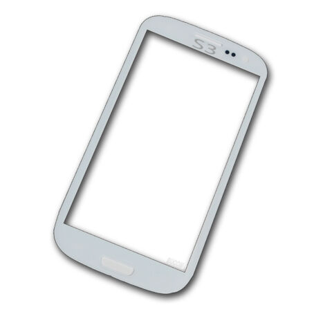 SAMSUNG GALAXY S3 I9300 I9301 FRONT SCHEIBE TOUCHSCREEN DISPLAYGLAS WINDOW WEISS