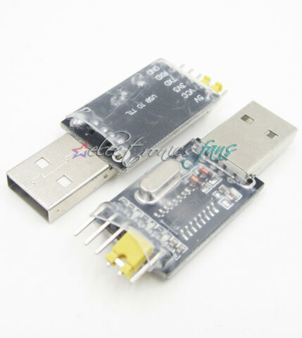 5PCS CH340G USB TO RS232 TTL CONVERTER BOARD ADAPTER STC REPLACE PL2303 CP2102