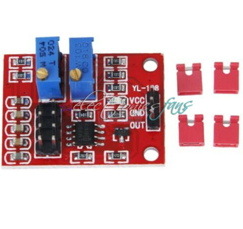 5PCS LM358 ADJUSTABLE SQUARE WAVE MODUL PULSEUPGRADE FREQUENCY DUTY CYCLE NEW