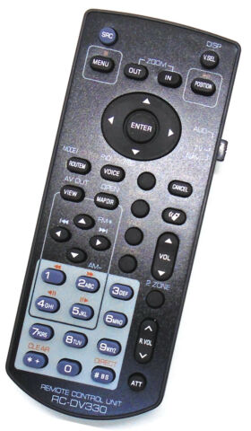 REPLACEMENT AUDIO DVD TV NAV REMOTE FOR KENWOOD KNA RCDV330 COMPAT DNX DDX SHOWN
