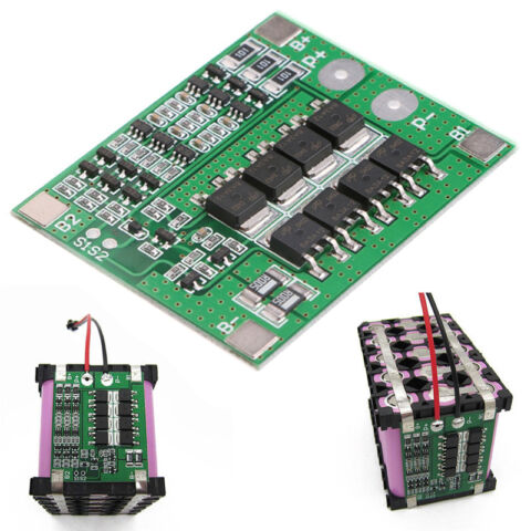 3S 20A 126V CELL 18650 LIION LITHIUM BATTERY CHARGER BMS PROTECTION PCB BOARD