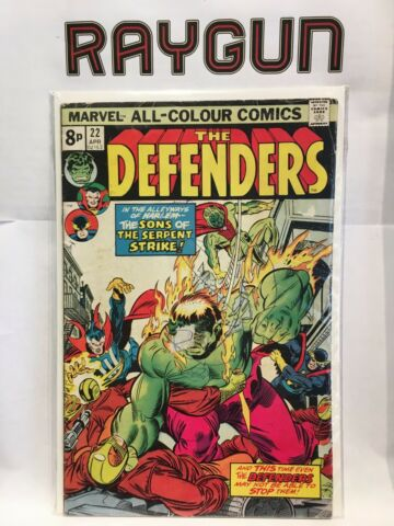 DEFENDERS VOL 1 22 GD 1 AUFDRUCK MARVEL COMICS