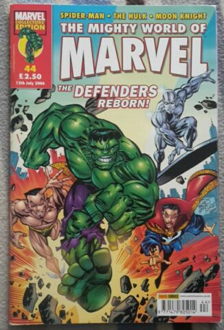 MIGHTY WORLD OF MARVEL 44 DEFENDERS REBORN PANINI COLLECTORS EDITION 2006
