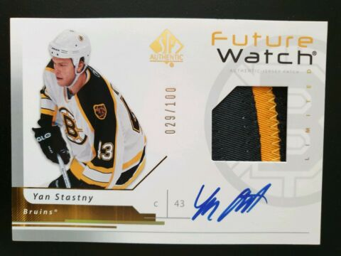 2006 07 SP AUTHENTIC LIMITED 166 YAN STASTNY 2CLR 029 100