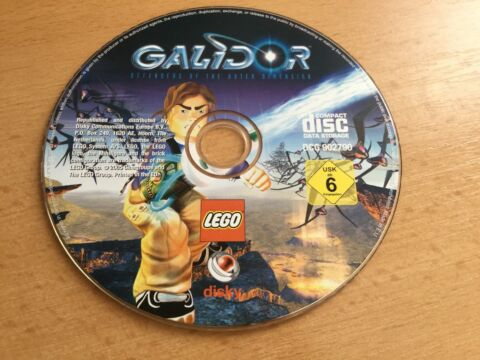 LEGO GALIDOR PC SPIEL CD ROM DEFENDERS OF THE OUTER DIMENSION USK AB 6
