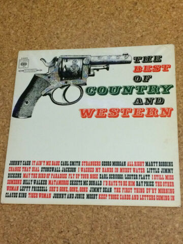 THE BEST OF COUNTRY AND WESTERN LP