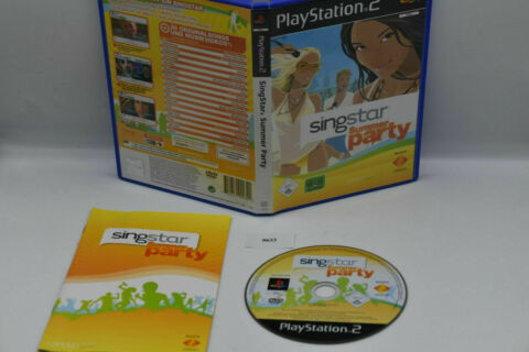 SINGSTAR SUMMER PARTY F R SONY PLAYSTATION 2 PS2 0633
