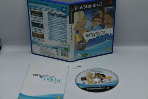 SINGSTAR PARTY F R SONY PLAYSTATION 2 PS2 0644