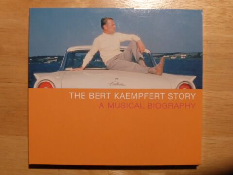 BERT KAEMPFERT STORY A MUSICAL BIOGRAPHY 2CD SET INCL STRANGERS IN THE NIGHT